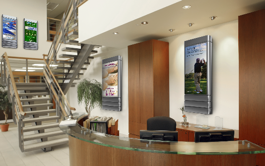 With the proper software, digital signage networks can be set up to react to an almost limitless set of conditions based on business rules to display the combination of information best suited to local circumstances.