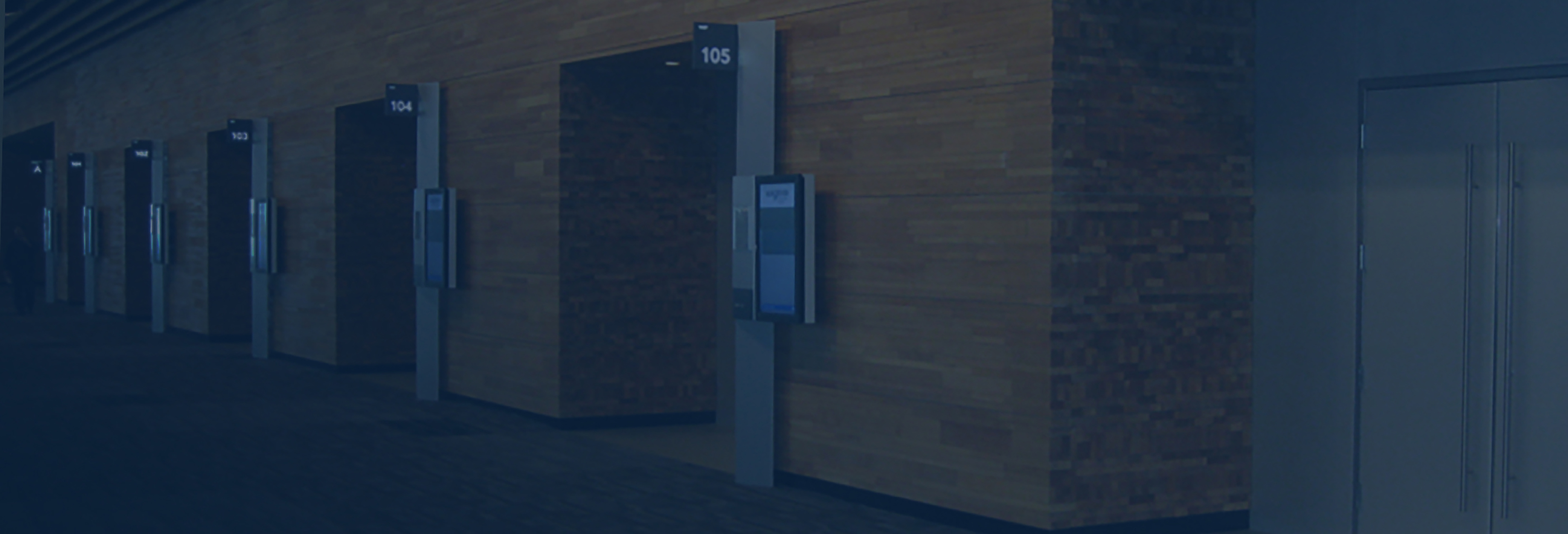 digital signage outside of meeting rooms