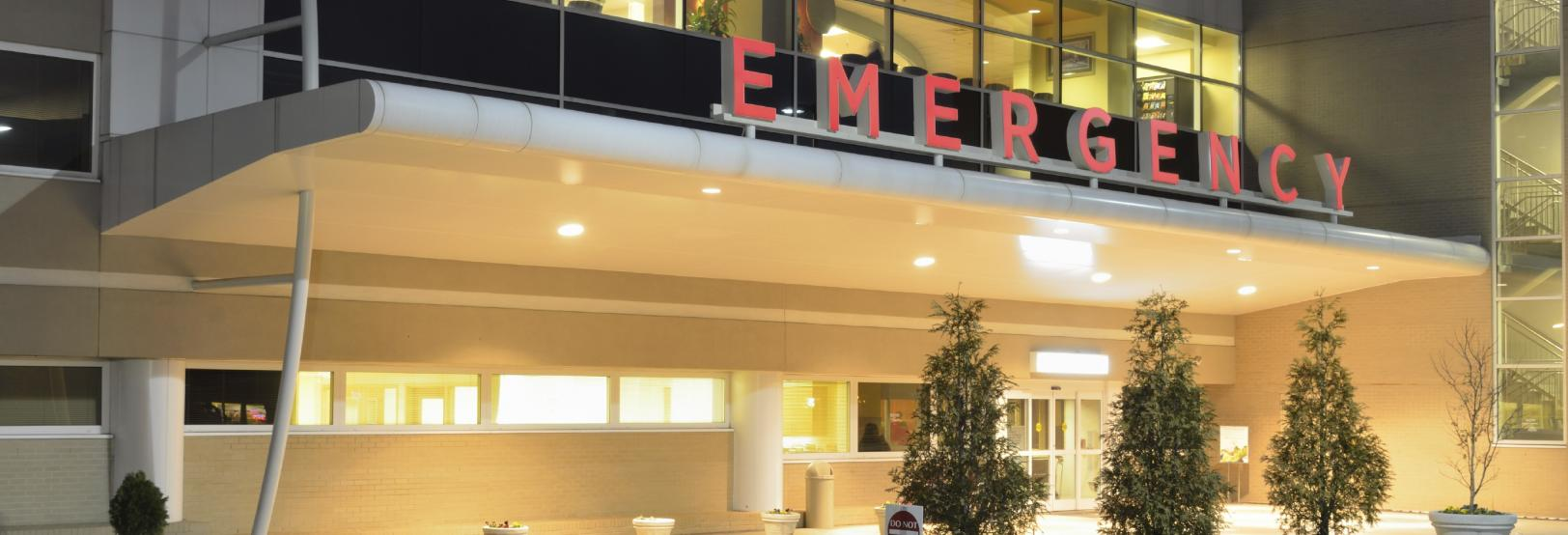 patient emergency area at hospital