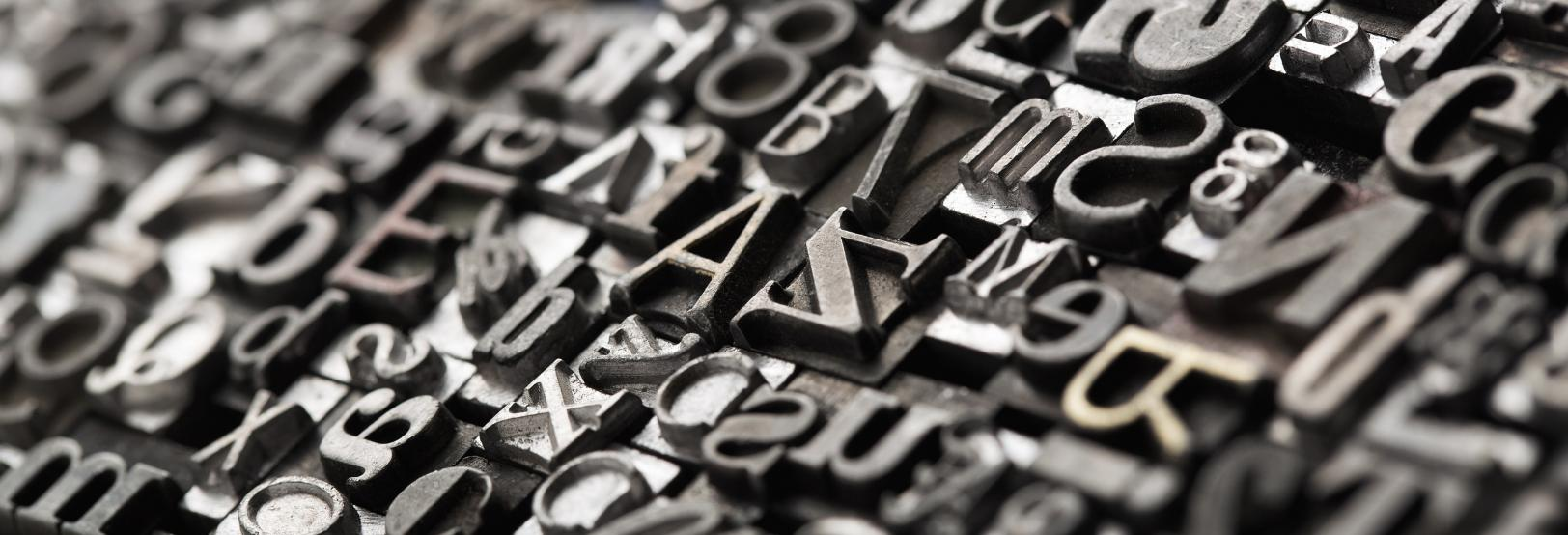 typography letters