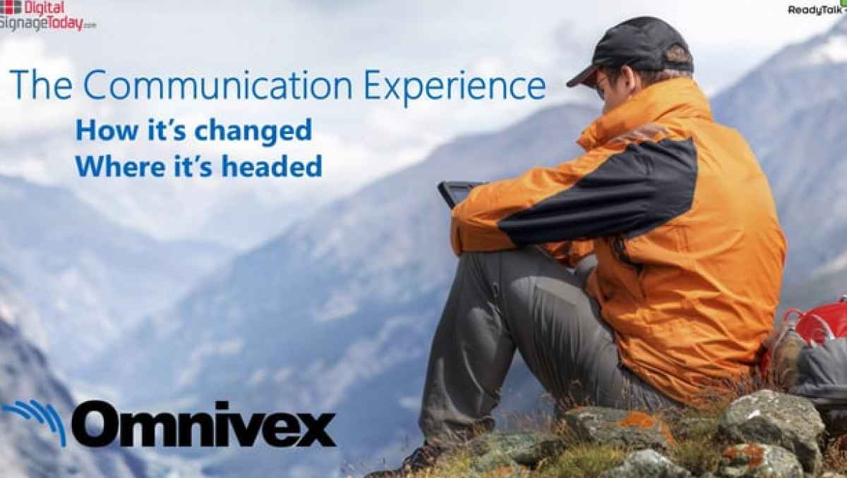 Webcast - The Communication Experience