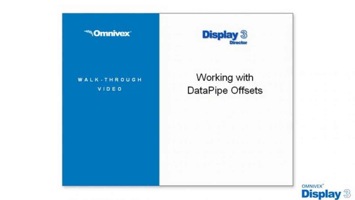 DataPipe Offsets