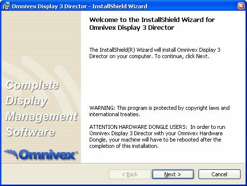 omnivex control 4 player